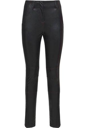 KOCHE' Kvinder Skindbukser - Faux Leather Trousers