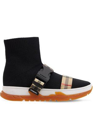 Burberry Knit Sock Slip On Sneakers