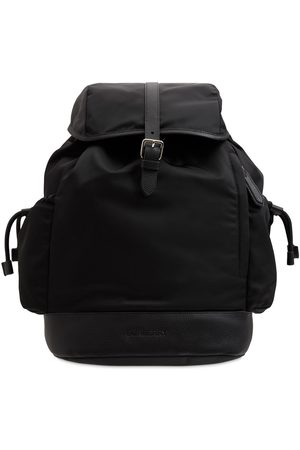 Burberry Check Nylon Changing Backpack