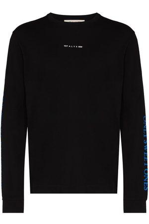 1017 ALYX 9SM Horned print long sleeve T-shirt