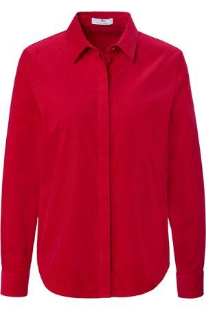 Peter Hahn Kvinder Casual skjorter - Fløjlsskjorte i 100% bomuld Fra
