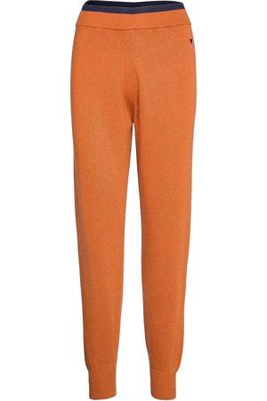 Bobo Choses Rib Knitted Pants Casual Bukser Orange