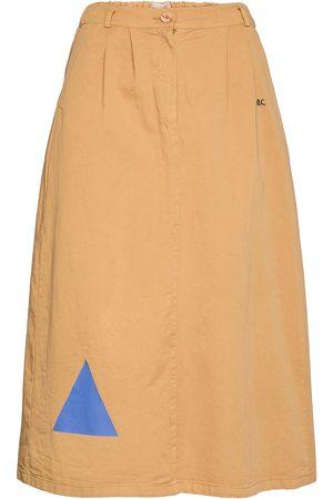 Bobo Choses Geometric Print Midi Skirt Knælang Nederdel Beige