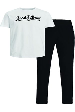 jack & jones Mænd Pyjamas - Drenge 2-delt Loungewear Mænd White