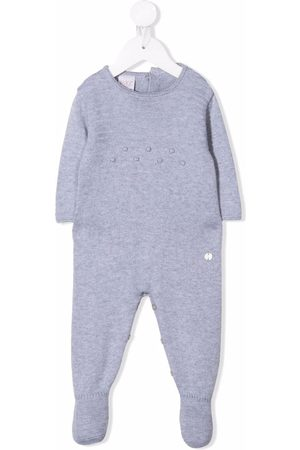 Paz Rodriguez Baby Bodies - Embroidered long-sleeve babygrow