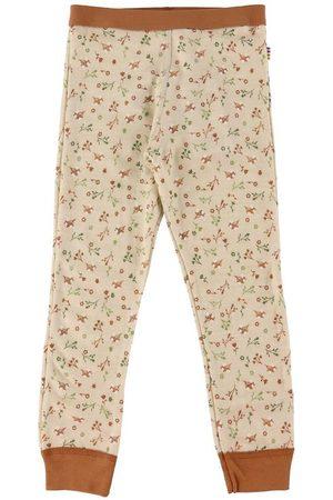 Joha Leggings - Leggings - Uld - / m. Blomster