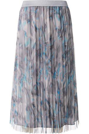 Basler Kvinder Plisserede nederdele - Plisseret nederdel Fra grå