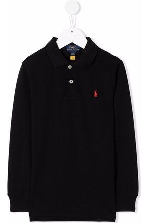 Ralph Lauren Drenge Poloer - Embroidered-logo polo shirt