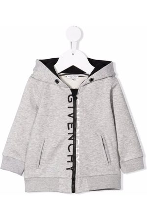 Givenchy Baby Sweatshirts - Logo-print hooded jacket