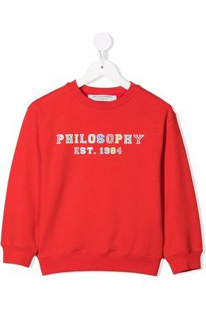 PHILOSOPHY DI LORENZO SERAFINI Logo-print sweatshirt