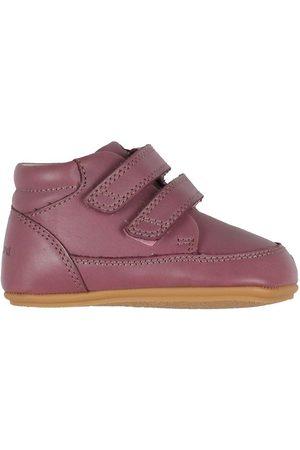 Bundgaard Lær-at-gå sko - Begyndersko - Prewalker ll Velcro - Dark Rose