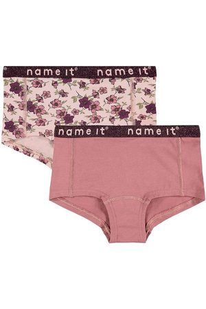 Name It Hipsters - Hipsters - NkfHipster 2- pak - Rosa/Blomstret