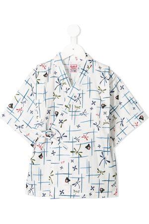 Miki House Piger Pyjamas - Kimono-pyjamas med tryk
