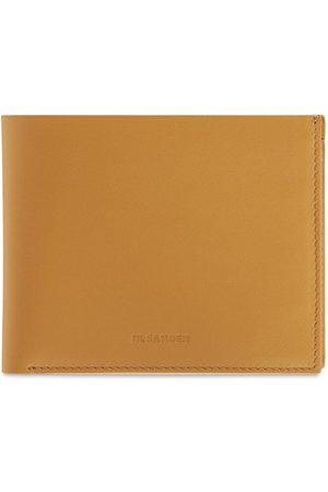 Jil Sander Mænd Punge - Leather Zip Pocket Wallet