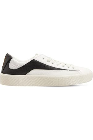 By Far 30mm Rodina Leather & Mesh Sneakers