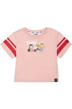 PUMA Peanuts Print Cotton Jersey T-shirt