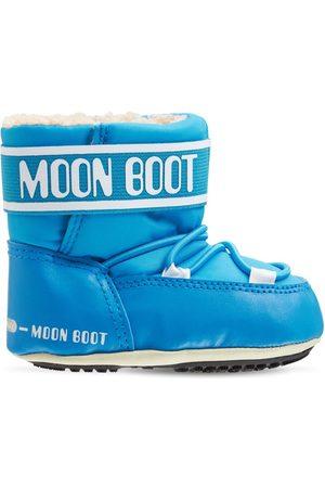 Moon Boot Drenge Vinterstøvler - Nylon Ankle Snow Boots