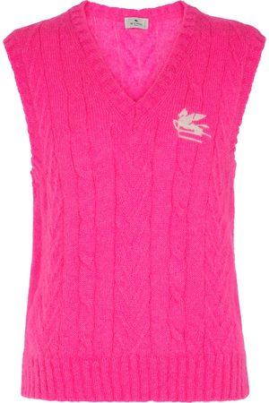Etro Mohair-blend sweater vest