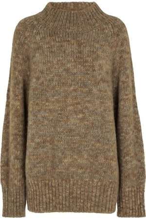 Maison Margiela Alpaca, cotton and wool sweater