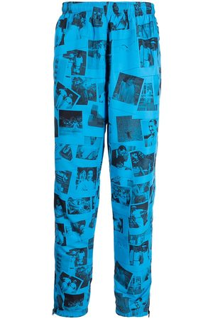 Lacoste Mænd Joggingbukser - Polaroid-print track trousers