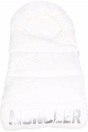 Moncler Baby Bletasker - Logo-print quilted sleep bag