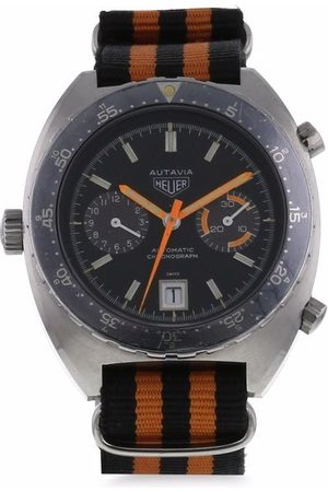 TAG HEUER PRE-OWNED Pre-owned Autavia 40mm fra 1970