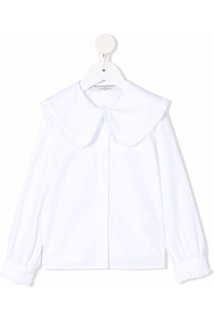 Philosophy Di Lorenzo Serafini Kids Piger Bluser - Button-down fitted blouse