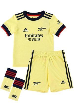 adidas Performance Træning t-shirts - Udebanesæt - Arsenal 21/22 Mini - Pearl Citri