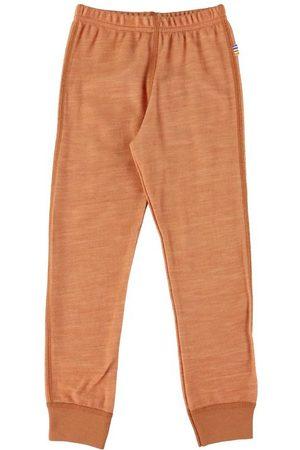 Joha Leggings - Leggings - Uld - Orangemeleret