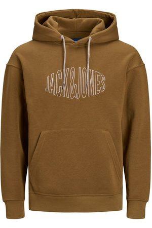 JACK & JONES Logo Fiskeøje-effekt Hoodie Mænd
