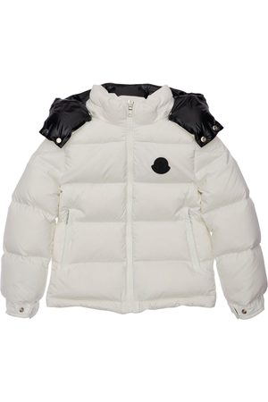 Moncler Ercan Hooded Nylon Down Jacket