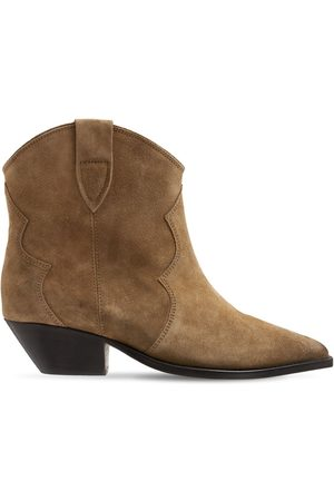Isabel Marant 40mm Dewina Suede Ankle Boots
