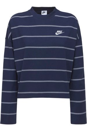 Nike Striped Cotton Top
