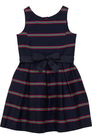 Ralph Lauren Piger Kjoler - Striped cotton dress