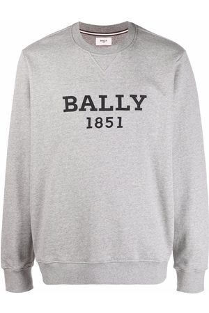 Bally Mænd Sweatshirts - Logo-print crew neck sweatshirt