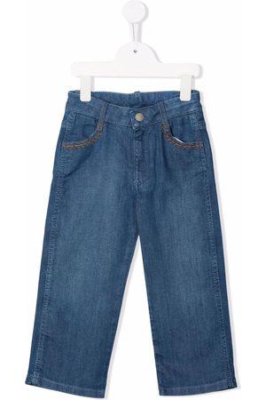 Chloé Kids Piger Straight - Straight-leg denim jeans