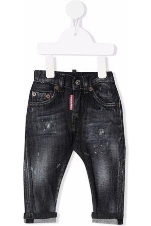 Dsquared2 Drenge Skinny - Distressed skinny jeans