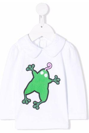 Marni Baby Langærmede - Frog-print long-sleeve top