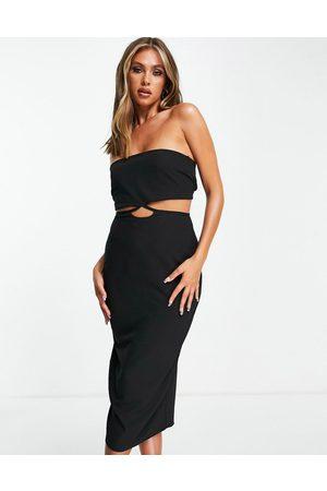 Vesper Kvinder Bodycon kjoler - Bodycon-kjole med bandeau-snit