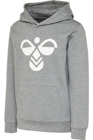 Hummel Sweatshirts - Hættetrøje - Cuatro - Gråmeleret