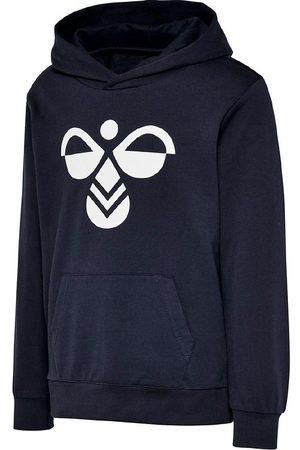 Hummel Sweatshirts - Hættetrøje - Cuatro - Navy