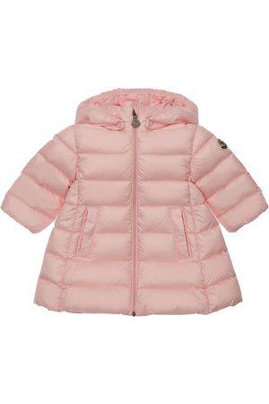 Moncler Piger Vinterjakker - Majeure Hooded Nylon Down Coat