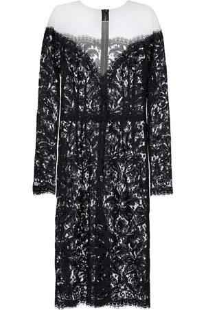 Dolce & Gabbana Heartneck lace dress