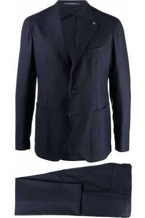 TAGLIATORE Fitted single-breasted suit
