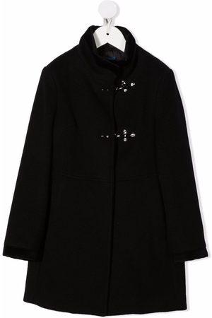 FAY KIDS Piger Vinterfrakker - Single-breasted high-neck coat