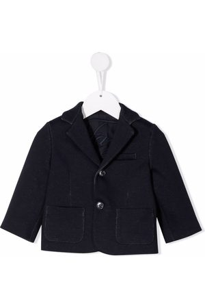 FAY KIDS Buttoned cotton blazer
