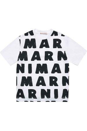 Marni Kortærmede - T-shirt - m. AOP Logo