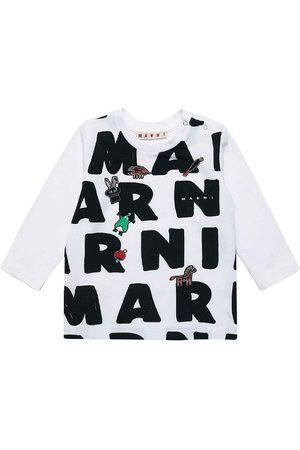 Marni Bluser - Bluse - m. AOP Logo