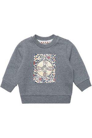 Marni Sweatshirts - Sweatshirt - Gråmeleret m. Print