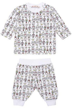 Marni Pyjamas - Nattøj - Tuta - m. Robotter